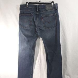 LEVI'S 511 Men's Jeans Dark Wash Slim Fit 33x30